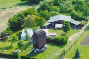 Erneuerung des Gruppenferienhauses an der Bockwindmühle in Badersleben