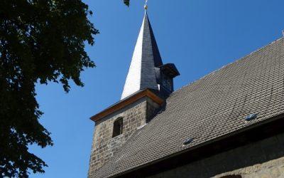 Sanierung an der Kirche St. Simon und Judas in Harsleben