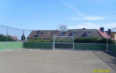 Errichtung einer multifunktionalen Kleinspielfeld-Anlage in Dingelstedt am Huy