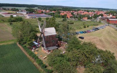 Sanierung Bockwindmühle Sargstedt Sanierung (inkl. Außenanlagen sowie Erschließung)