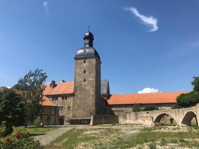 Sanierung Nordfassade an der Wasserburg Zilly
